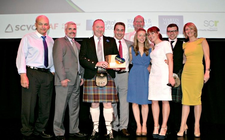 Double win for MND at The Scottish Charity Awards