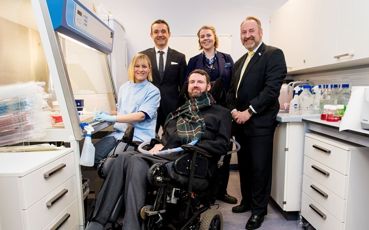 ScotRail Alliance on-track to find a cure with MND Scotland