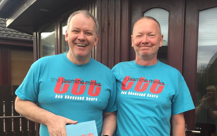 Scottish Band 'The Jasmine Minks' raising funds for MND