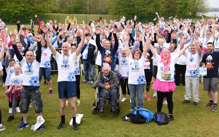 Strathclyde Park Fun Run raises £85,000 for MND