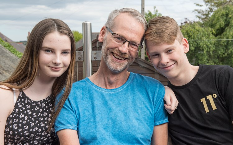 Dad with MND shares story on Father's Day