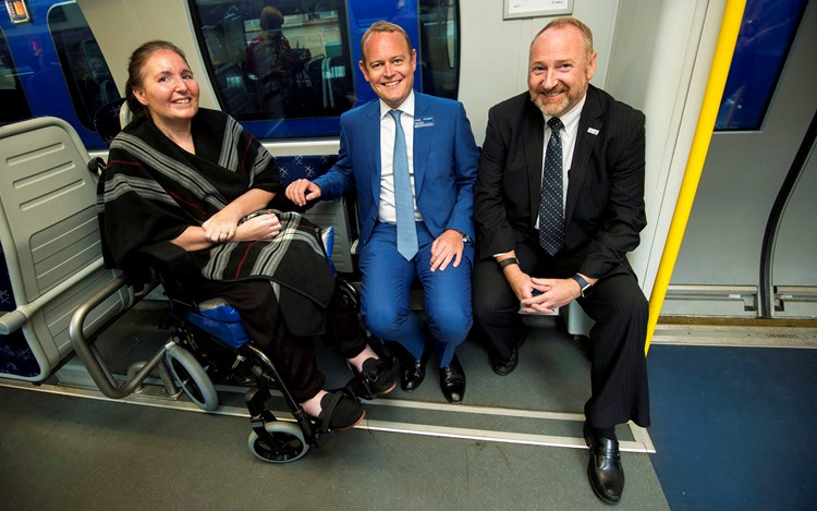 ScotRail and MND Scotland on a Journey to a Cure