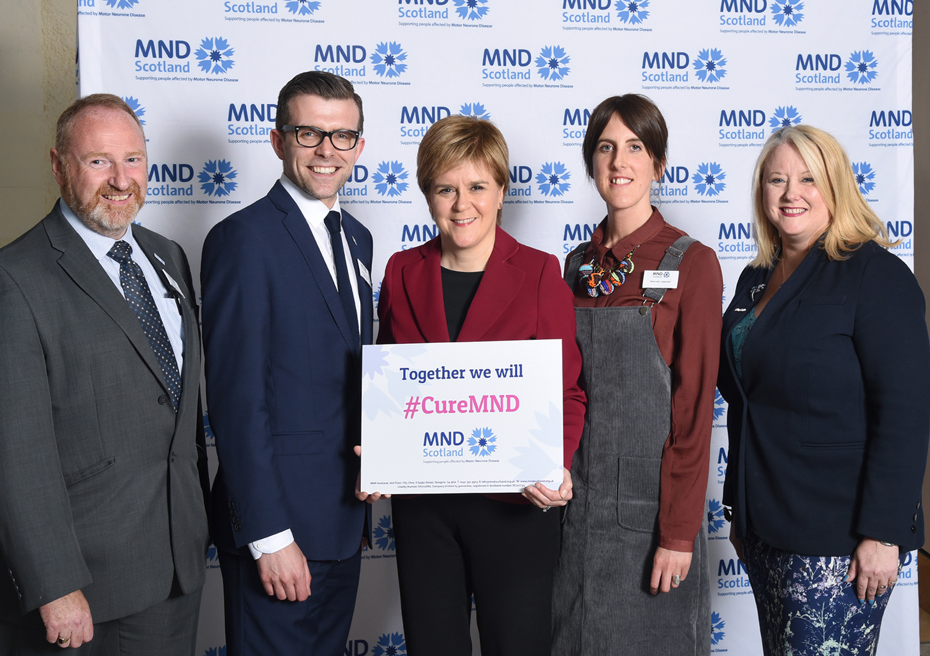 Global MND Awareness Day in the Scottish Parliament