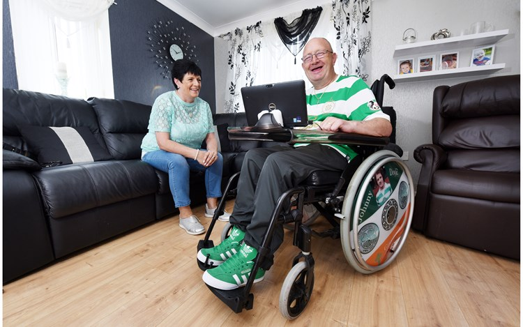 Greenock man shares his 9-year progression with MND