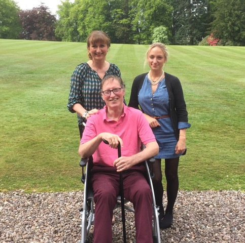 Perth man writes book about his MND journey