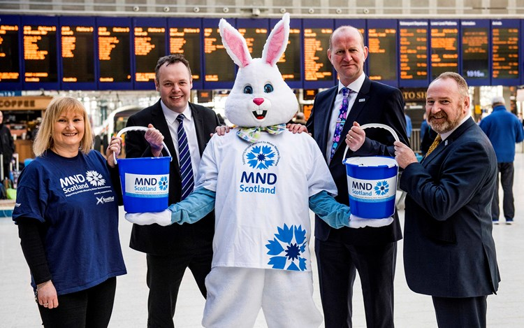 ScotRail Alliance hops into second year of partnership with MND Scotland