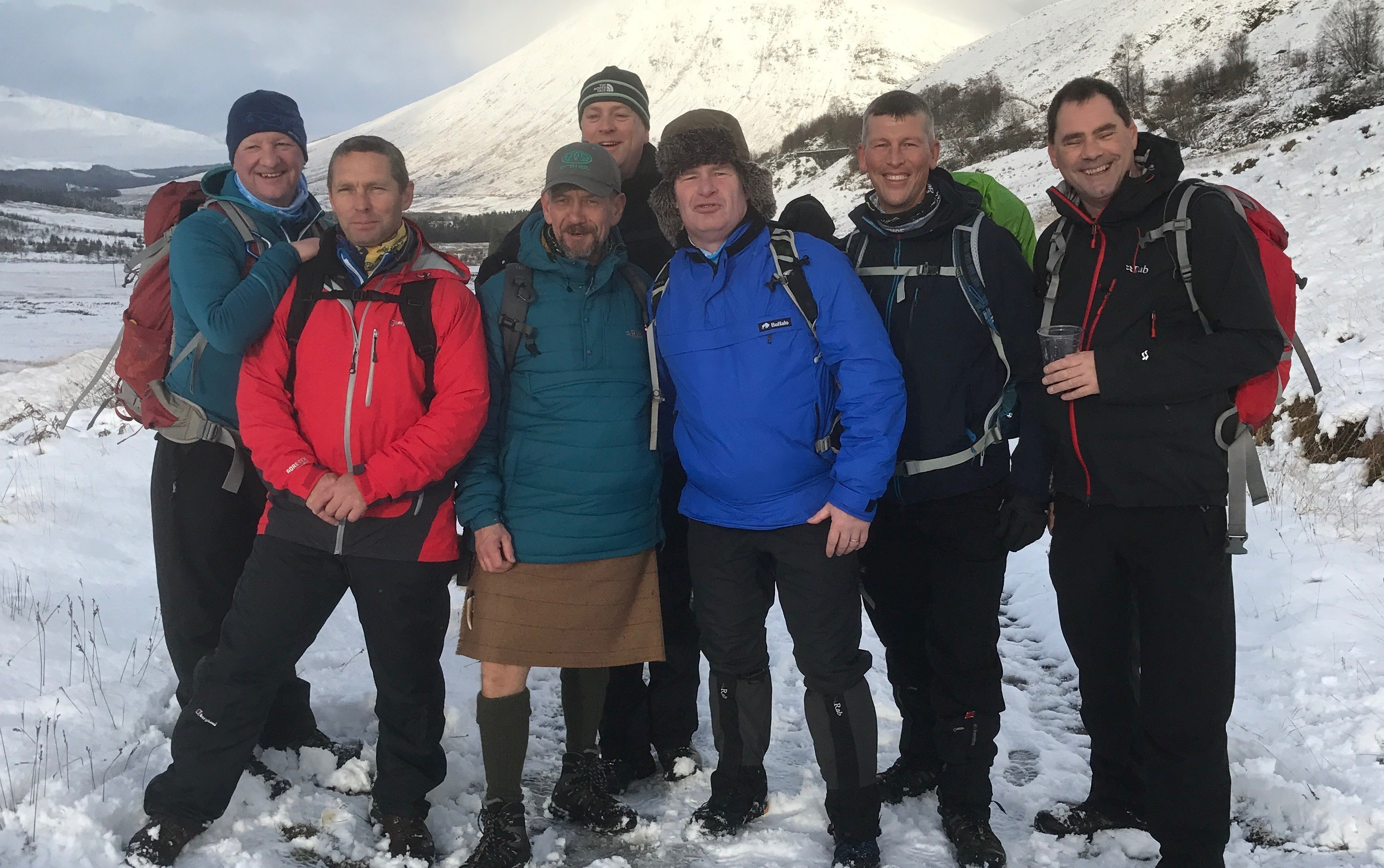 Kenny to lead 'Magnificent Seven' on West Highland Way for MND Scotland