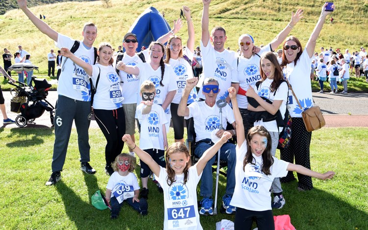 4 Kiltwalks and the Great Wall of China for MND
