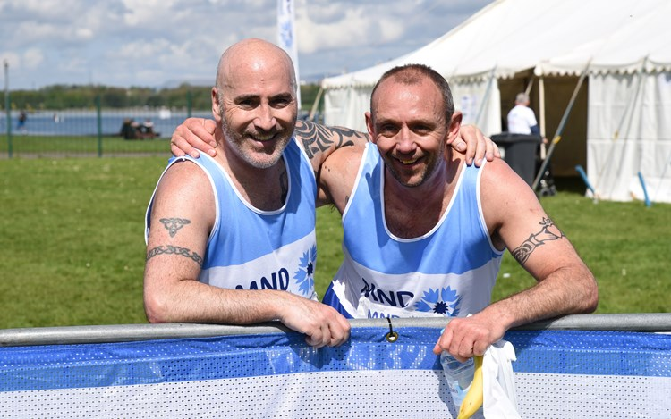 Mark and John to pound the pavements in Berlin for MND Scotland