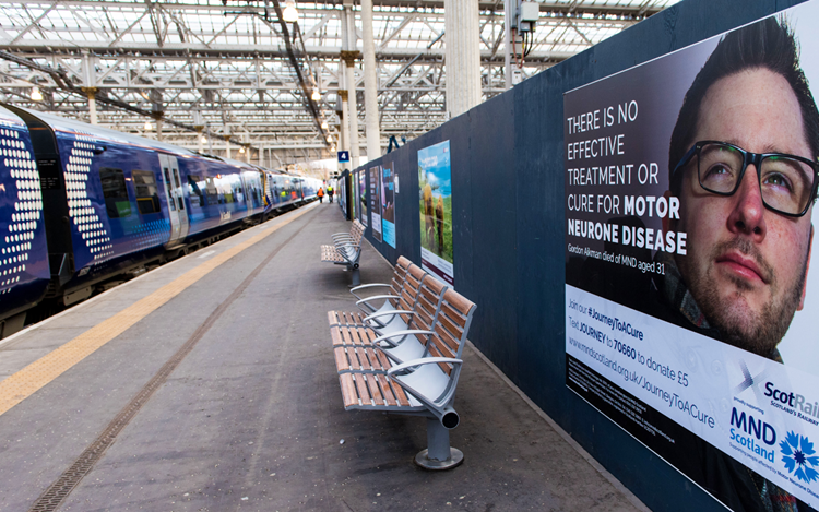 ScotRail train to be named after MND campaigner