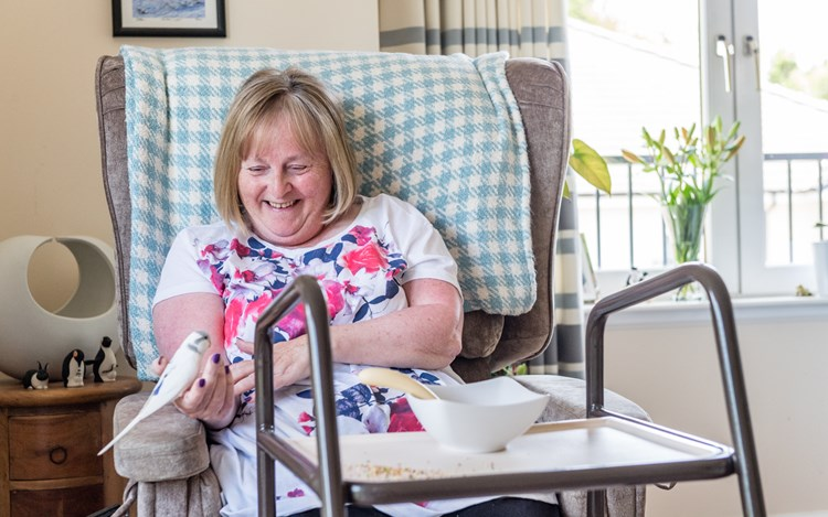 Moira was misdiagnosed 3 times before her MND diagnosis was confirmed.