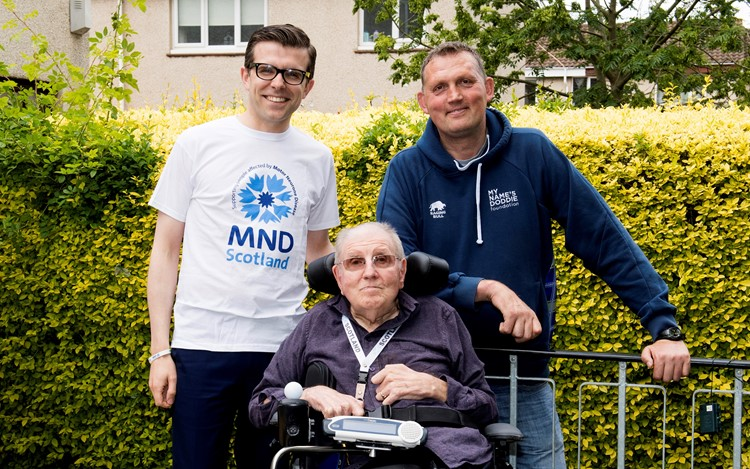 Doddie ups donation to MND Scotland