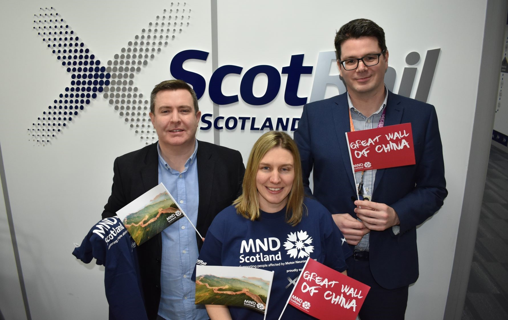 ScotRail Alliance Train for Charity Trek