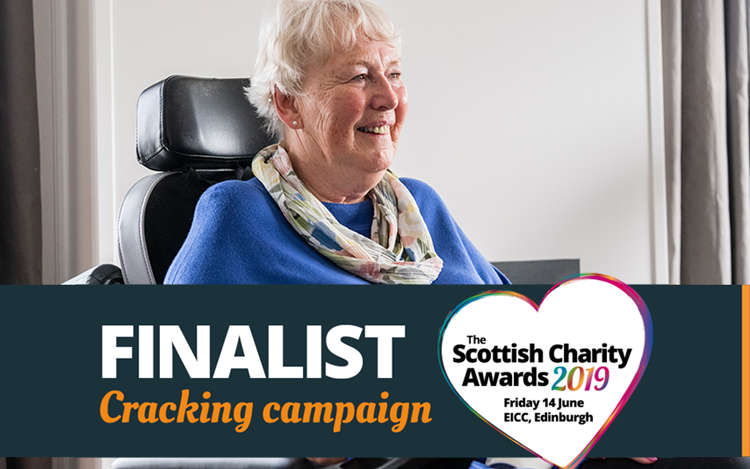 Scottish Charity Awards: MND Scotland nominated for top awards