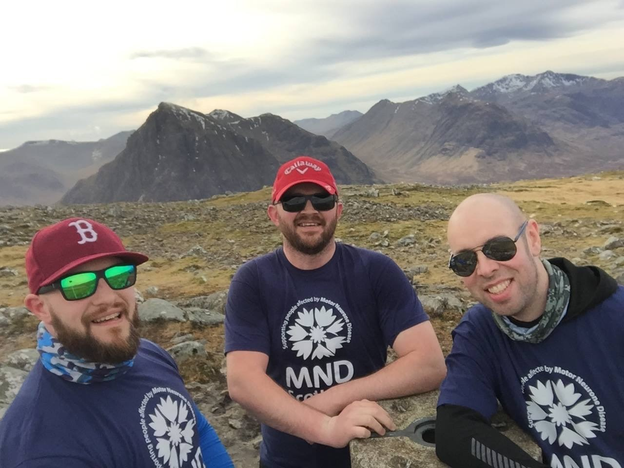 Callum's six challenges for MND Scotland