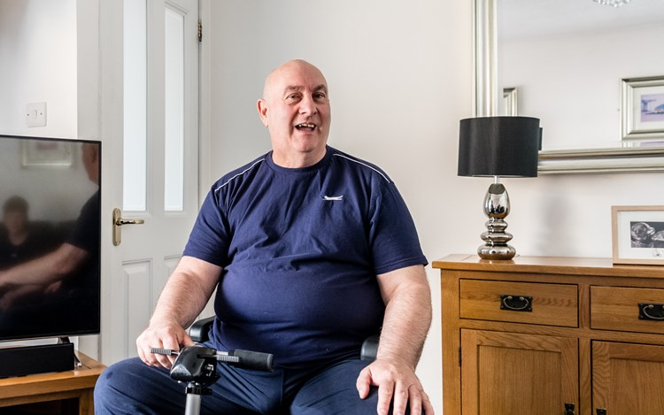 Ian shares his MND story