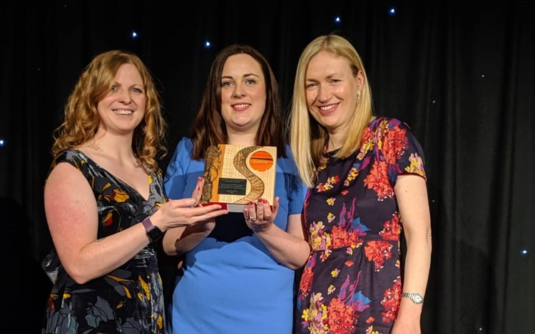 MND Scotland and Marie Curie win at Scottish Charity Awards