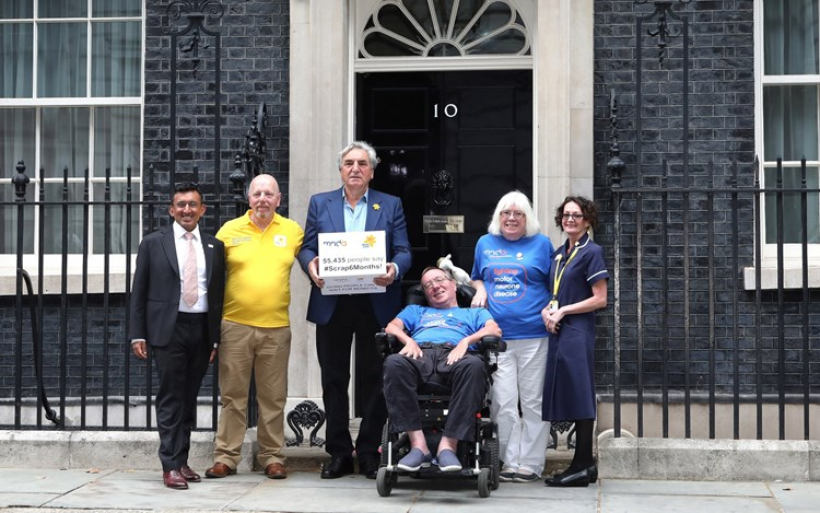 Benefits petition handed in to 10 Downing Street