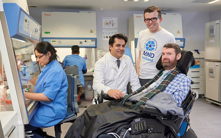 Ground-breaking MND drug trial launched
