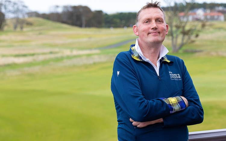 Doddie's big boost for MND Scotland