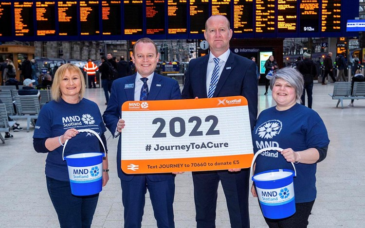 ScotRail charity partnership extended