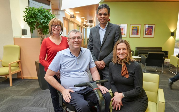 First person starts new MND drug trial