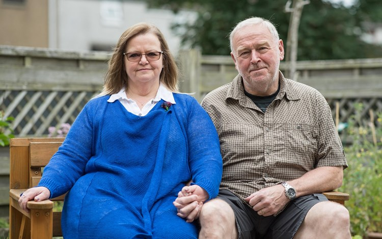 Couple on lockdown calling to 'Get MND on the List'